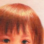 肖像画油絵の拡大