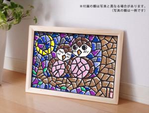 浄土真宗のお坊さんが描いたフクロウの絵