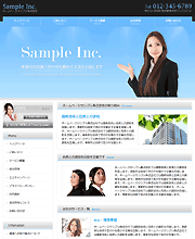 WEB制作例_企業系サイト